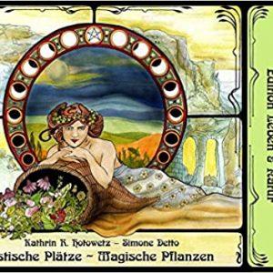 Titelbild Buch Mystische Plätze - magische Pflanzen